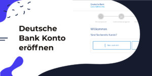 Eröffnung des Geschäftskontos und Erhalt der Deutsche Bank Card