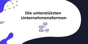 Folgende Unternehmensformen können ein Konto bei der Deutschen Bank eröffnen